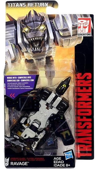 Transformers Generations Titans Return Ravage Legend Action Figure
