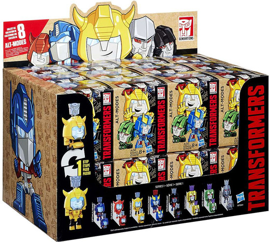 Transformers Generations Alt-Modes Series 3 Mystery Box [24 Packs]