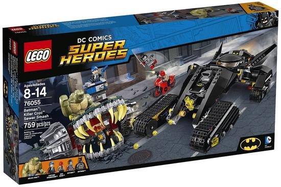 LEGO DC Super Heroes Batman: Killer Croc Sewer Smash Set #76055