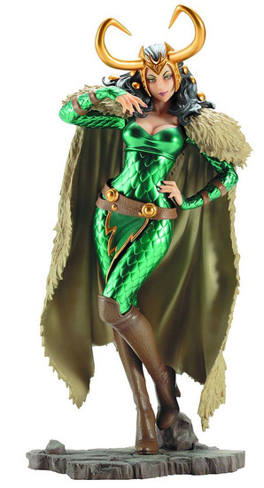 Marvel Bishoujo Female Loki Statue