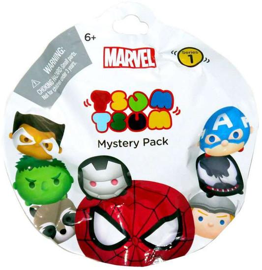Disney Marvel Tsum Tsum Series 1 Mystery Stack Pack [1 RANDOM Figure]