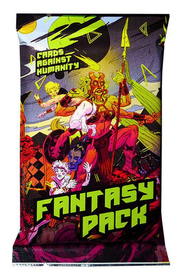 Cards Against Humanity Fantasy Pack Card Game Expansion