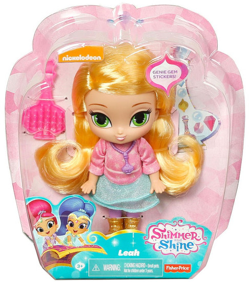 Fisher Price Shimmer & Shine Leah 6-Inch Basic Doll