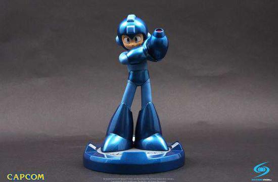 Capcom Mega Man Exclusive 10-Inch Statue [Blue Ver,]