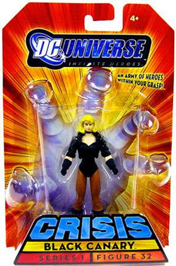 DC Universe Crisis Infinite Heroes Series 1 Black Canary Action Figure #32