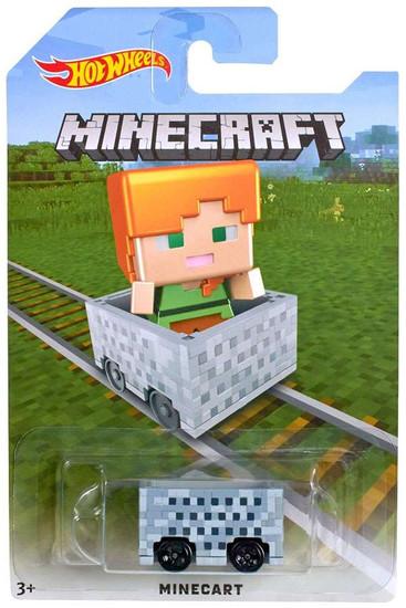 Hot Wheels Minecraft Minecart Diecast Car [Alex]