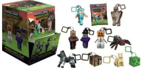Minecraft Hangers Series 3 Mystery Box [24 Packs]