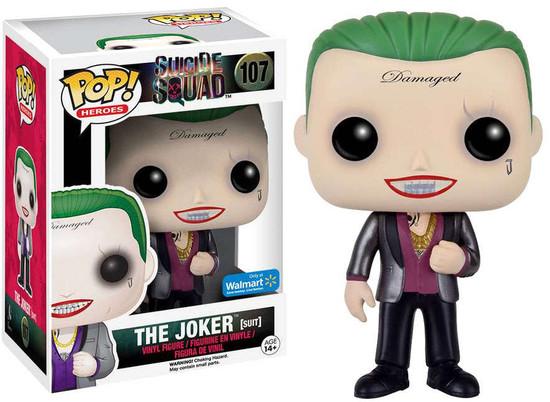 Funko Suicide Squad POP! Movies The Joker Exclusive Vinyl Figure #107 [Suit]