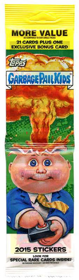 Garbage Pail Kids Topps 2015 Series 1 Trading Card Sticker JUMBO Pack [21 Cards + 1 Exclusive Bonus Card]