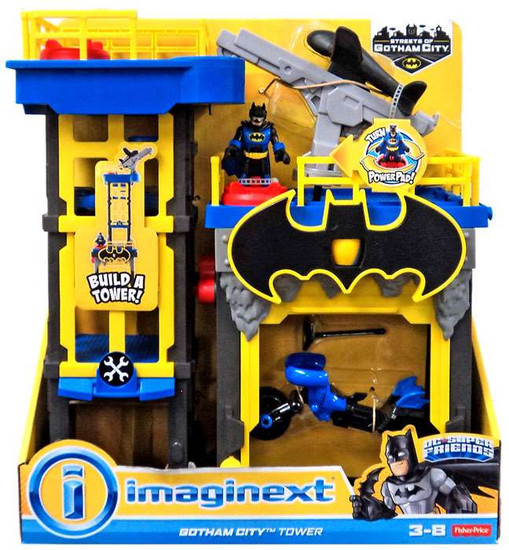 Fisher Price DC Super Friends Imaginext Gotham City Tower Playset [2016]