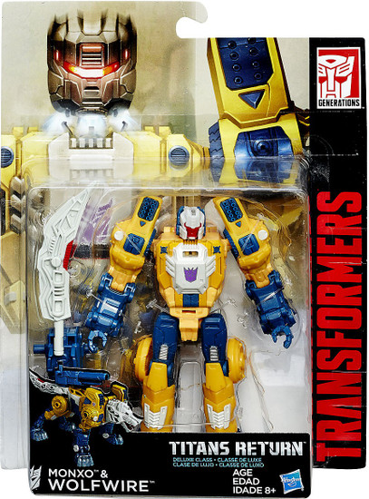 Transformers Generations Titans Return Monxo & Wolfwire Deluxe Action Figure