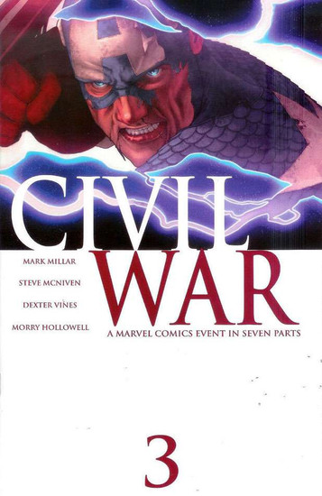 Marvel Civil War #3 Comic Book