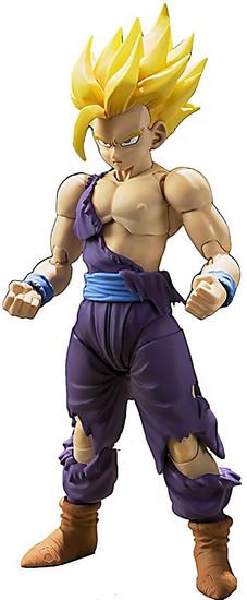 Dragon Ball Z S.H. Figuarts Super Saiyan Son Gohan Action Figure [2016 Version]