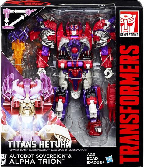 Transformers Generations Titans Return Autobot Sovereign & Alpha Trion Voyager Action Figure