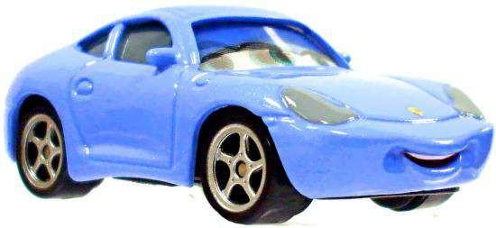 Disney / Pixar Cars Loose Lenticular Sally Diecast Car [Loose]