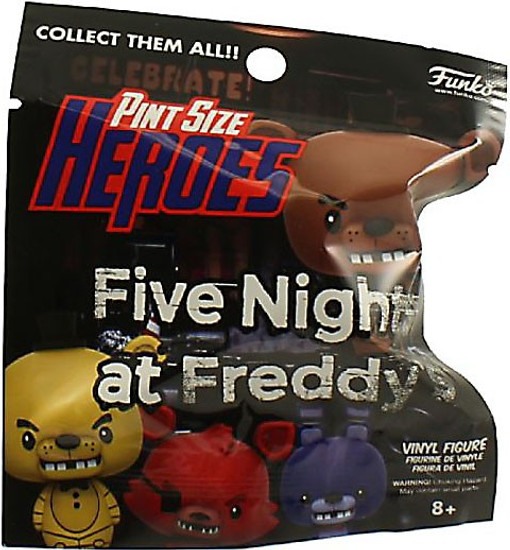 Funko Five Nights at Freddy's Pint Size Heroes Series 1 Mystery Pack