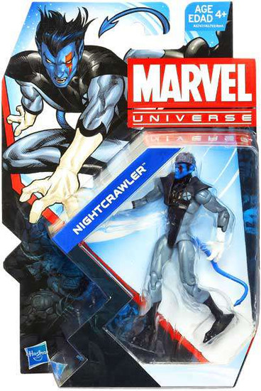 Marvel Universe Series 24 Nightcrawler Action Figure [X-Force, Damaged Package]