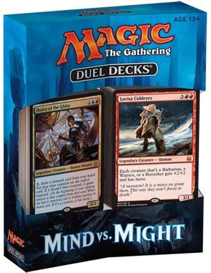 MtG Trading Card Game Mind vs Might Duel Decks