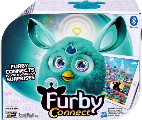 Furby Connect Teal Figure
