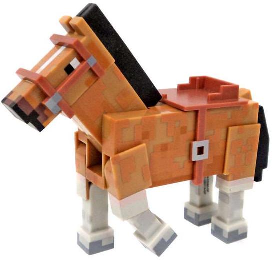 Minecraft Core Animal Horse Figure [Brown Loose]