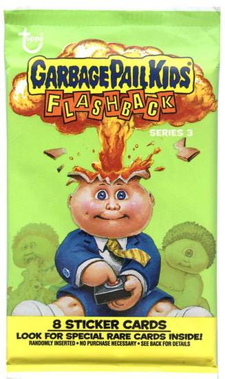 Garbage Pail Kids Topps Flashback Series 3 Trading Card Sticker Pack