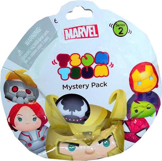Disney Marvel Tsum Tsum Series 2 Mystery Stack Pack [1 RANDOM Figure]