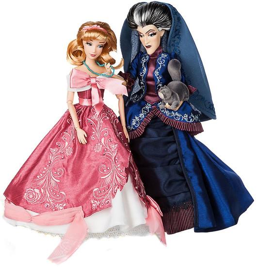 Disney Fairytale Designer Collection Cinderella & Lady Tremaine Exclusive Doll Set