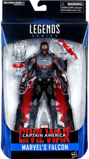 Captain America Civil War Marvel Legends Marvel's Falcon Exclusive Action Figure
