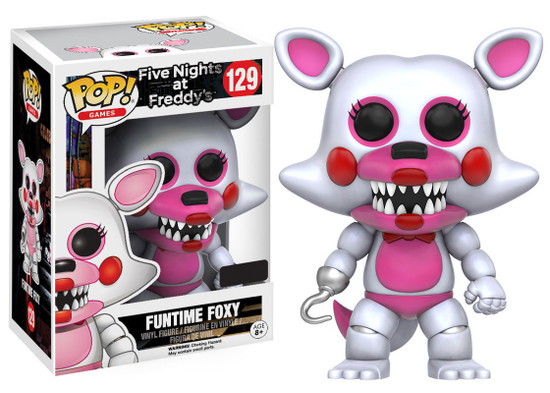 Funko Five Nights at Freddy's POP! Games Funtime Foxy Exclusive Vinyl Figure #129