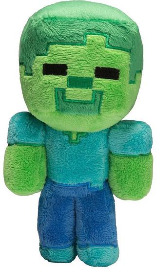 Minecraft Baby Zombie 8.5-Inch Plush