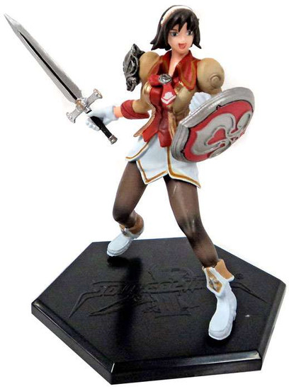 Soul Calibur III Game Character Collection Series 1 Cassandra PVC Figure [2nd Colors]