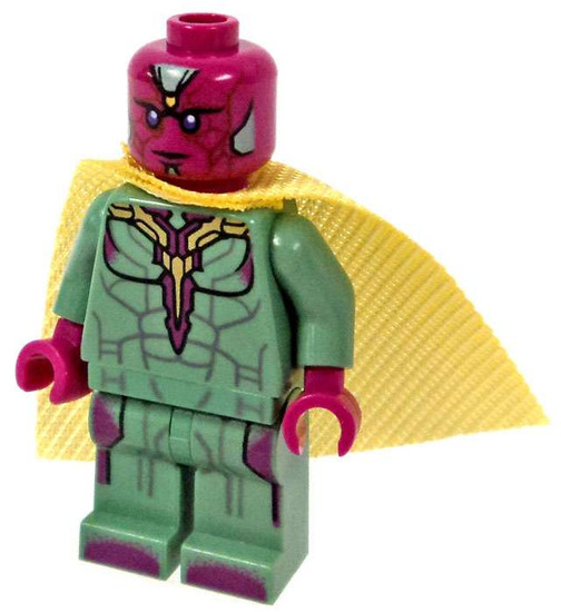 LEGO Marvel Super Heroes Captain America: Civil War Vision Minifigure [Loose]