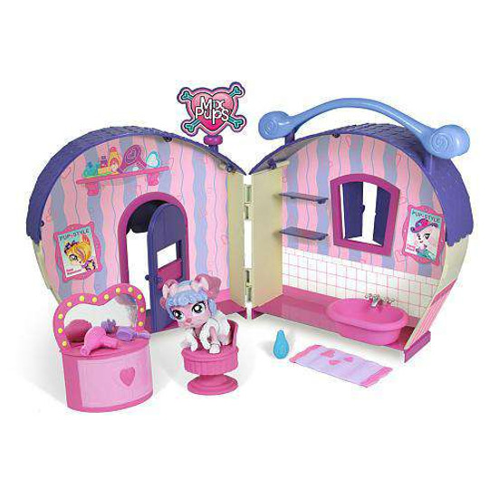 Mix Pups Fancy Paws Day Spa Playset [Damaged Package]