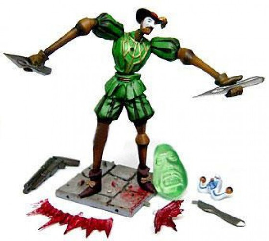 Devil May Cry Series 1 Green Marionette Trading Figure