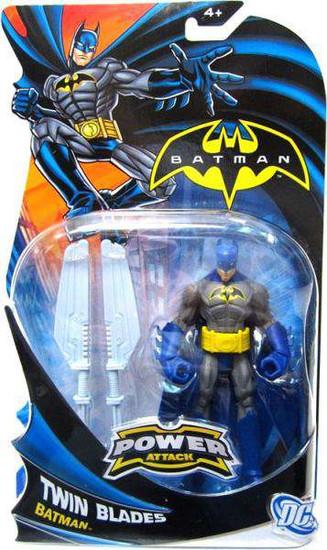 Power Attack Batman Action Figure [Twin Blades]