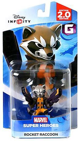Disney Infinity 2.0 Edition Marvel Super Heroes Rocket Raccoon Game Figure