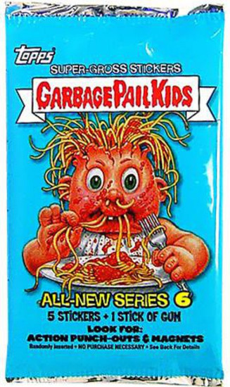Garbage Pail Kids Topps All-New Series 6 Trading Card Sticker Pack
