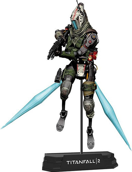 McFarlane Toys Titanfall 2 Color Tops Green Wave Jester Action Figure #18