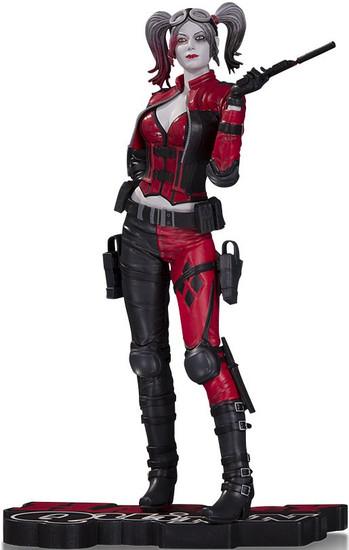Batman Injustice 2 Harley Quinn Red, White & Black Harley Quinn 7-Inch Statue [Injustice 2]