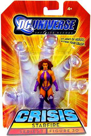 DC Universe Infinite Heroes Crisis Starfire Action Figure #30