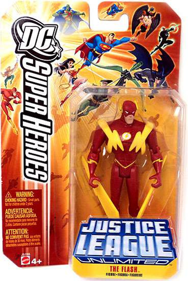 DC Justice League Unlimited The Flash Action Figure