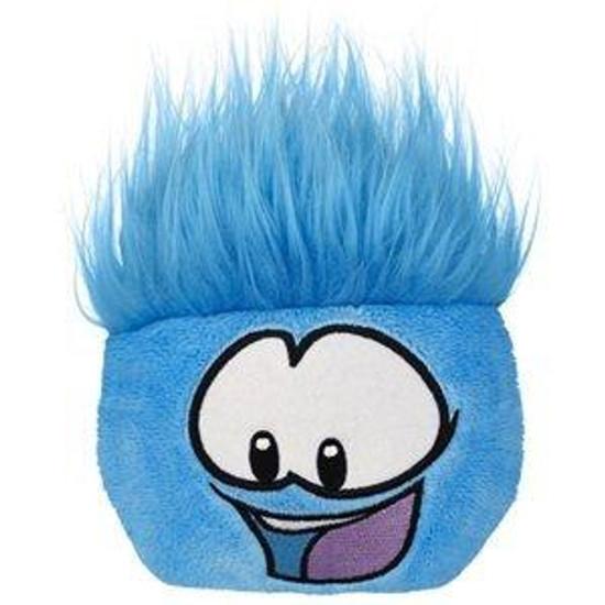 Club Penguin Series 8 Blue Puffle 4-Inch Plush