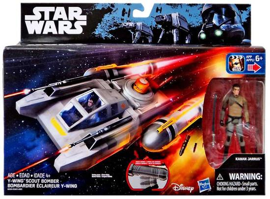 Star Wars Rebels Y-Wing Scout Bomber 3.75-Inch Vehicle