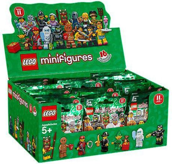LEGO Minifigures Series 11 Mystery Box [60 Packs]