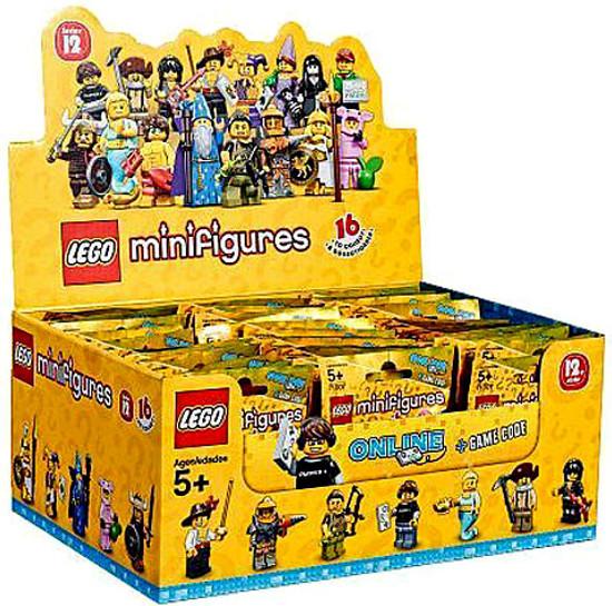 LEGO Minifigures Series 12 Mystery Box [60 Packs]