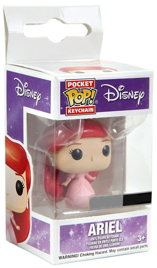Funko The Little Mermaid POP! Disney Ariel Exclusive Keychain [Dress]