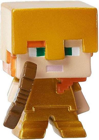 Minecraft Ice Series 5 Alex with Gold Armor Mini Figure [Loose]