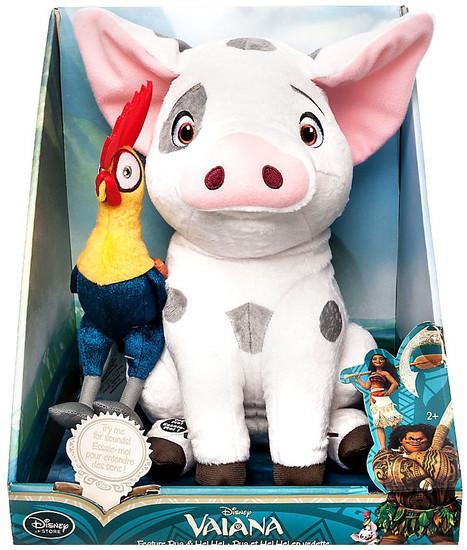 Disney Moana Pua & Heihei Exclusive 12-Inch Medium Plush