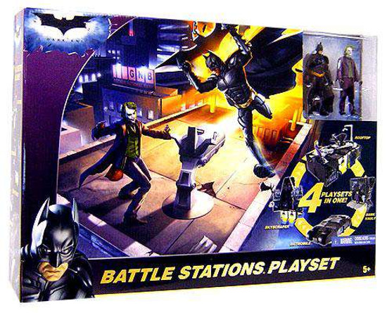 Batman The Dark Knight Battle Stations Playset [Damaged Package]