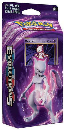 Pokemon Trading Card Game XY Evolutions Mewtwo Mayhem Theme Deck